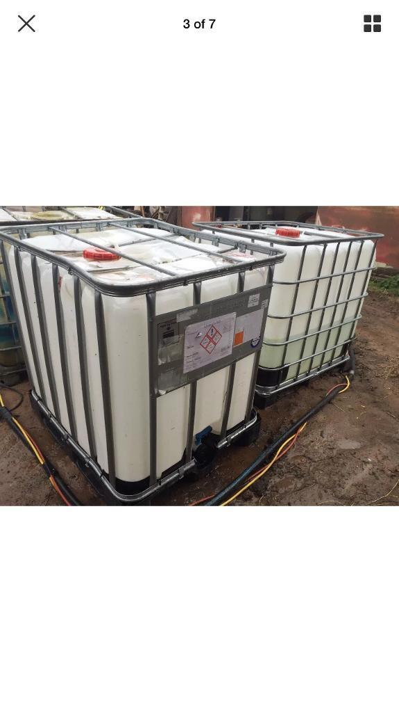 IBC WATER CONTAINER