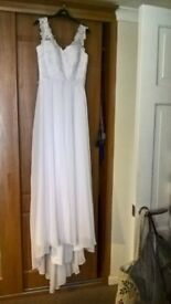 New wedding dress for sale, UK size 10