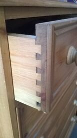 Bedroom furniture set, Wardrobe, Chest of Drawers, 2 x Bedside cabinets & Dressing table