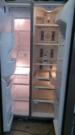 whirlpool American fridge freezer..Mint Condition..free delivery