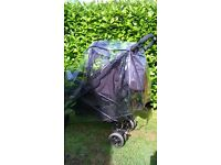 Double pushchair/buggy/stroller for sale. Good condition. Reduced for quick sale