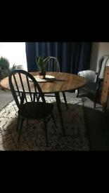Reworked ercol table and chairs