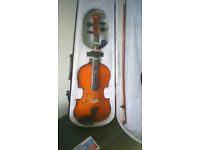 Primavera 100 3/4 Size Violin including case and bow VGC
