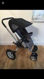 Quinny Buzz Grey Buggy Stroller Pushchair Pram