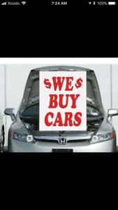 ⭐️MAKE FAST CASH TODAY 4 YOUR OLD SCRAP USED CARS! TOP CASH PAID