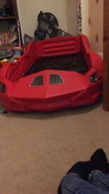 Storm Kids Toddler Racing Car Bed
