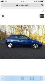 2004 Ford Focus TDCi SPORT Rs blue