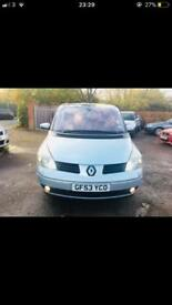 Renault Espace 3.0 tdi automatic 7 seater full history full mot mint runner nationwide delivery 1495