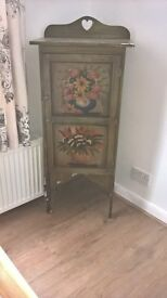 Unique hand painted cupboard