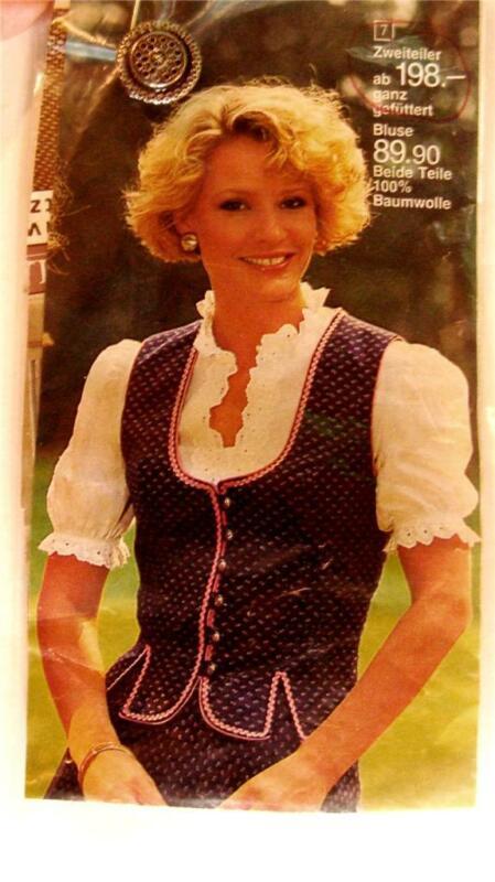 Octoberfest Vintage Womens German Austria Dirndl Dress
