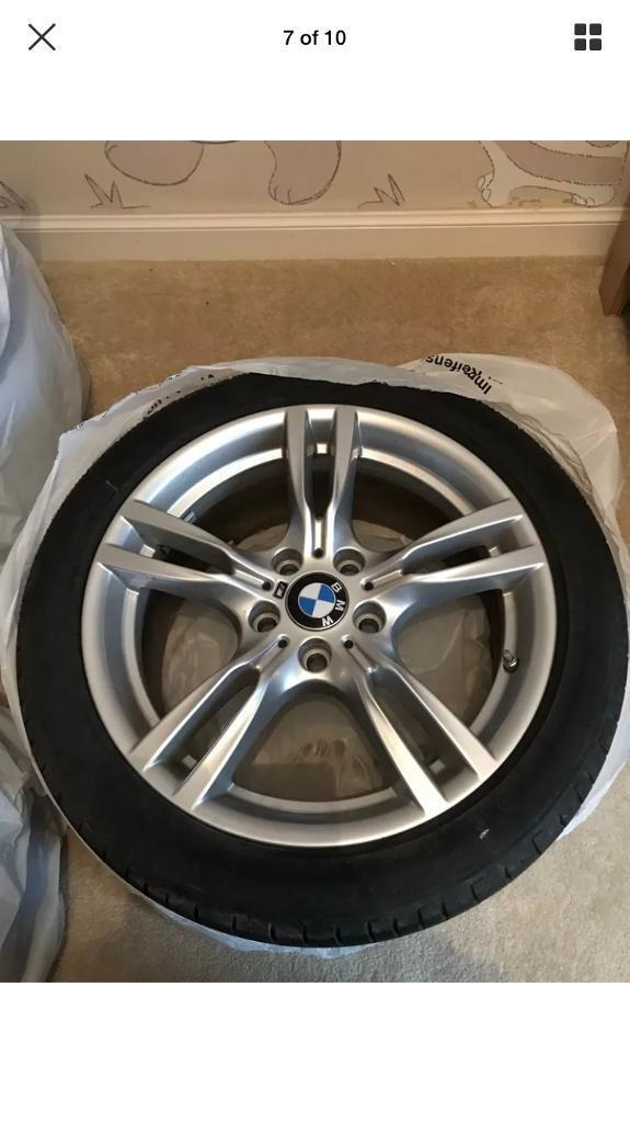 """BMW M Sport Star 18"""" Alloys And Tyres"""