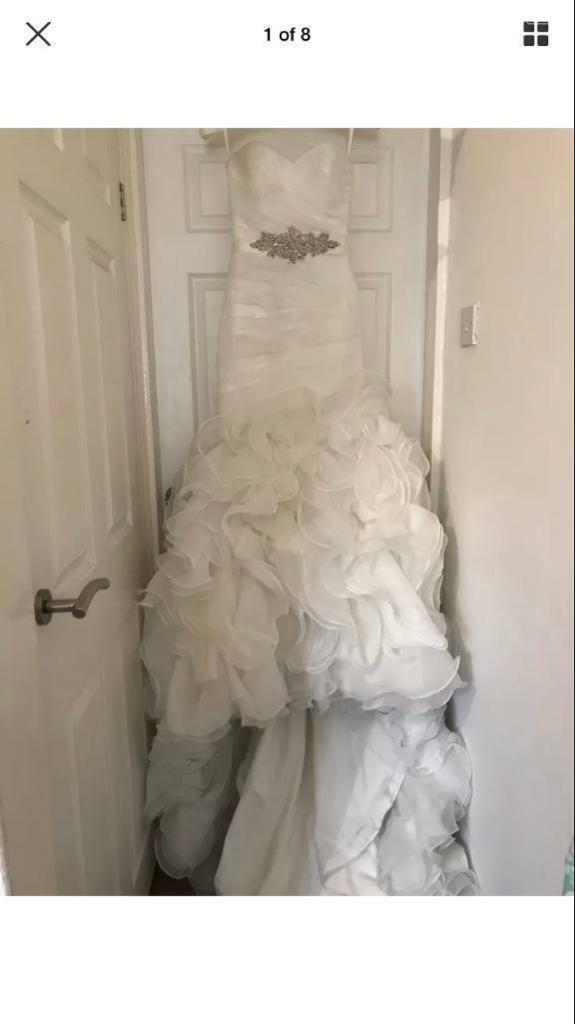 Wedding Dress Size 6 | in Stoke-on-Trent, Staffordshire | Gumtree