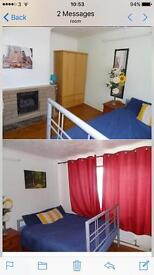Spacious well furnished double room available now