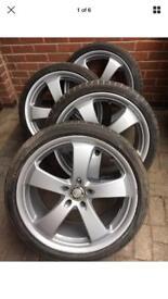 Vauxhall vivaro / traffic alloy wheels