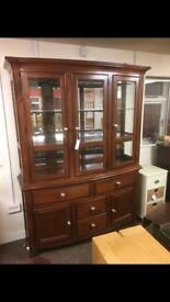 RRP £2000 Gillies of Broughty Ferry mahogany dresser * free furniture delivery *