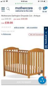 Brand new Darlington cot