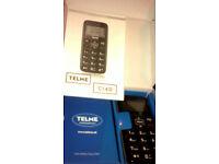 Telme c140 (very basic mobile phone bigger buttons) BNIB