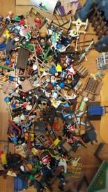 Massive amount of playmobil