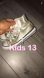 Converse boots - kids size 13