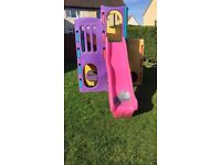 Little Tikes Tropical Climbing Frame with slides and tunnel