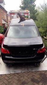 BMW m5 2006 shell provisionally sold!!