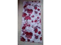 Ladies beaufiful hip, neck, head shawl, scarf, rose design, lightweight,