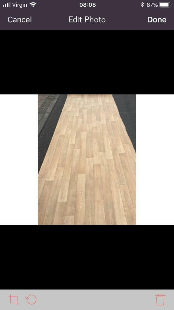 14ft Long By 4ft 4inches Wide Brand New Vinyl Flooring
