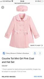 Couche Tot Coat and Hat Set