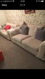 3 seater sofa/sofa bed & 2 seater sofa
