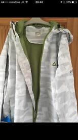 Men's waterproof jacket size M new