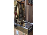 CANMAC 4 Burner Doner Kebab Machine NATURAL GAS - GOLD MACHINE
