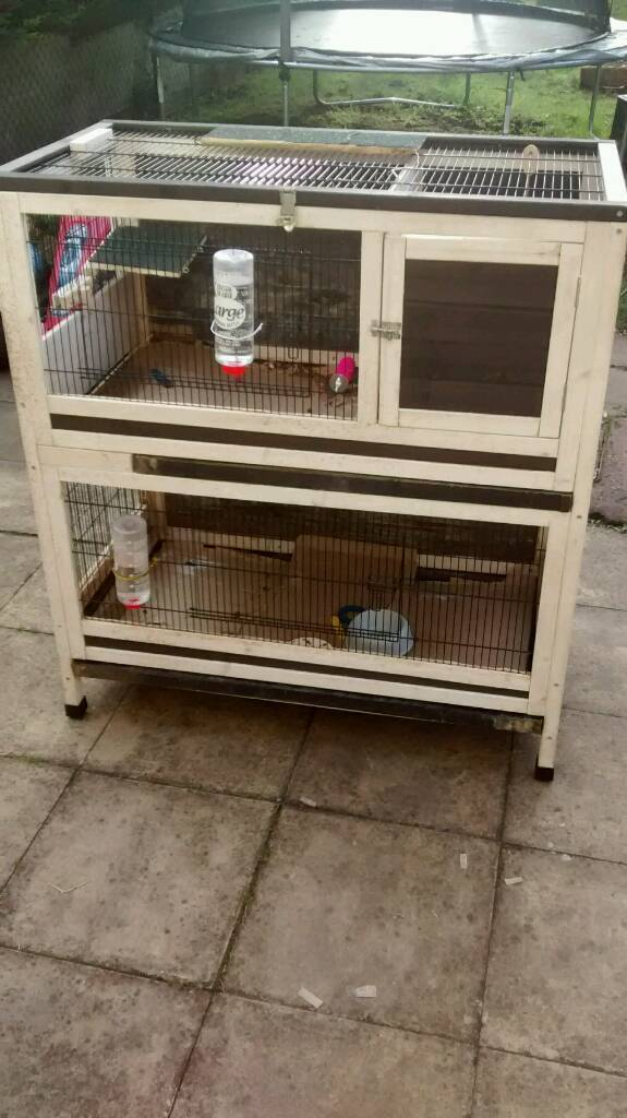 Wooden hutch/rabbit or animal cage