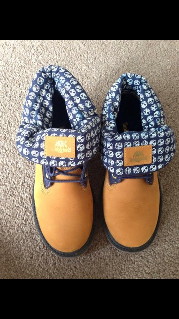 Timberland Roll Tops