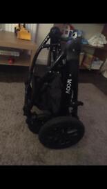 Moov travel system pram stroller car seat