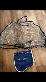 Maxi-Cosi car seat raincover, used with Pebble.