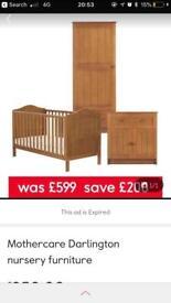 Complete nursery furniture set