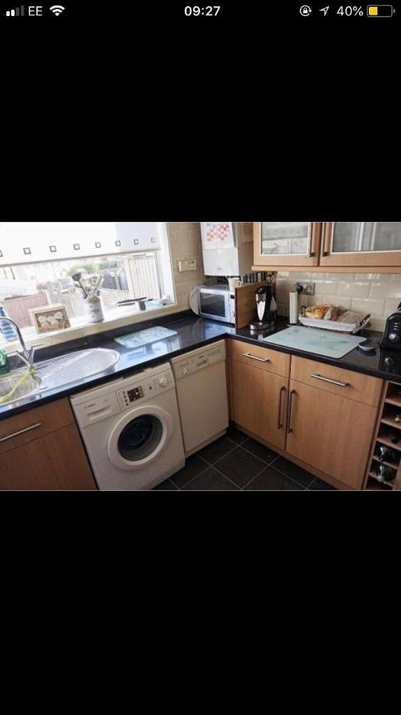 B & Q kitchen very very good condition, sink tak work top. | in ...
