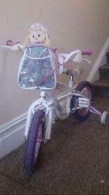 "Avigo rag doll bike 14"""