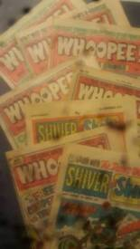 Whoopee and shiver and shake comics