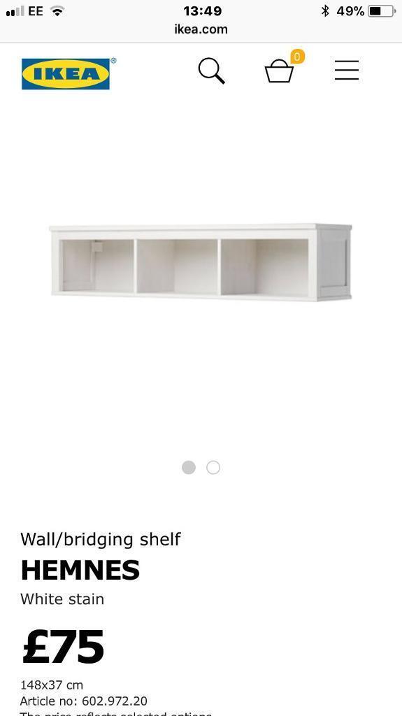 IKEA wall/bridging unit