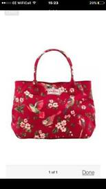 Cath Kidston red birds large tote bag. Cost £80!