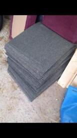 Carpet tiles 500x500mm