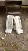 Bauer goalie pads for sale 26+1