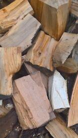 FIREWOOD cedar and hardwood mix well seasoned