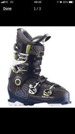 Salomon x pro 120 size 8 men's ski boots