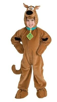 Deluxe Scooby-Doo Child Costume Brown Dog Cartoon Girls Boys - Deluxe Scooby Doo Kostüm