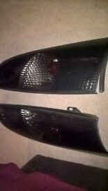 ford focus tinted rear back light cases