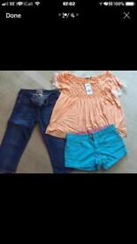 Ladies size 6 clothes bundle next river island