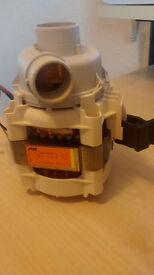 ZANUSSI Dishwasher ZSF6161 Wash Pump Motor
