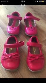 Pretty patent baby girl shoes